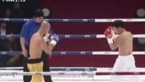 韩国跆拳道冠军侮辱中国,被一龙一回合打倒他数十次