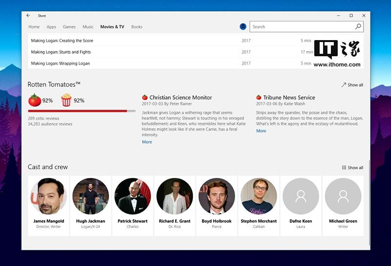 fluent流畅设计将至, 微软小幅升级win10商店ui设计