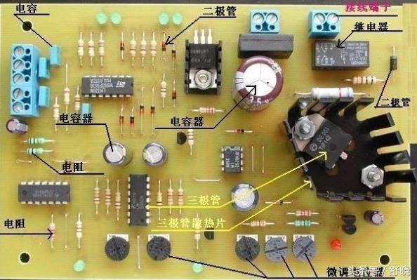 普通电路板上的元件,电阻数量最多