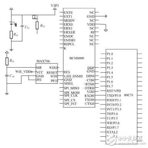 智能电表硬件电路设计图详解 -电路图天天读