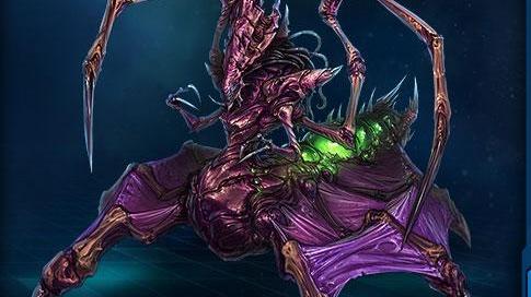 为什么星际争霸中虫族女皇不能离开菌毯?