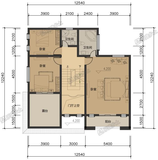 10x25米自建房设计图展示