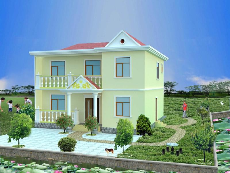 农村小别墅图片大全 经济型别墅设计图欣赏