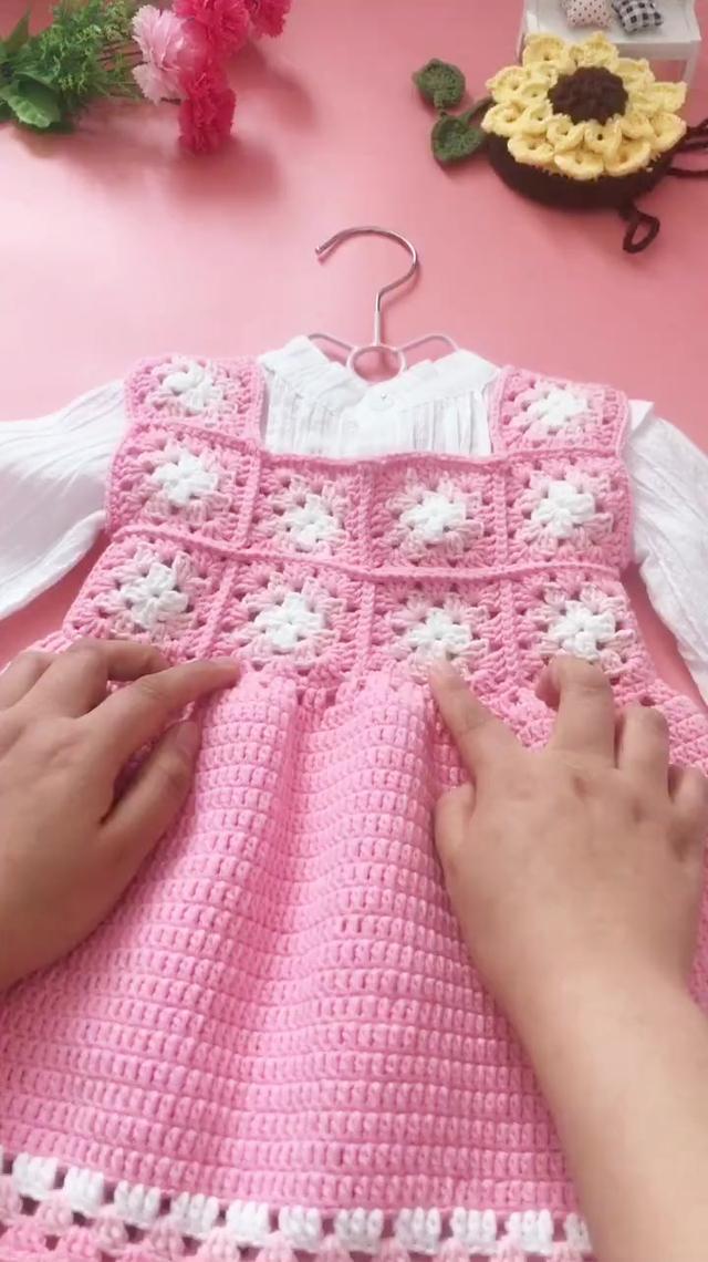 猫猫の编织教程 宝宝的背心背心(1)