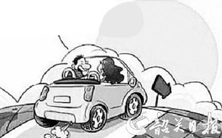 汽车油位检查电路图