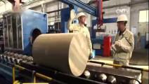 中国万吨挤压机打破德国垄断,1000公斤铝锭瞬间变25米成材