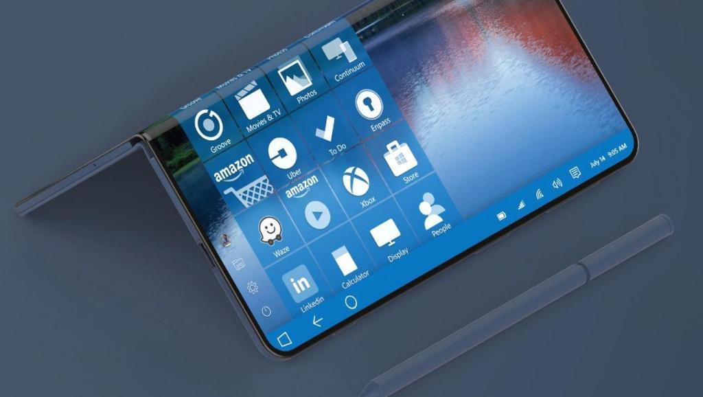 可折叠设计+骁龙845 微软Surface手机有望年底发布