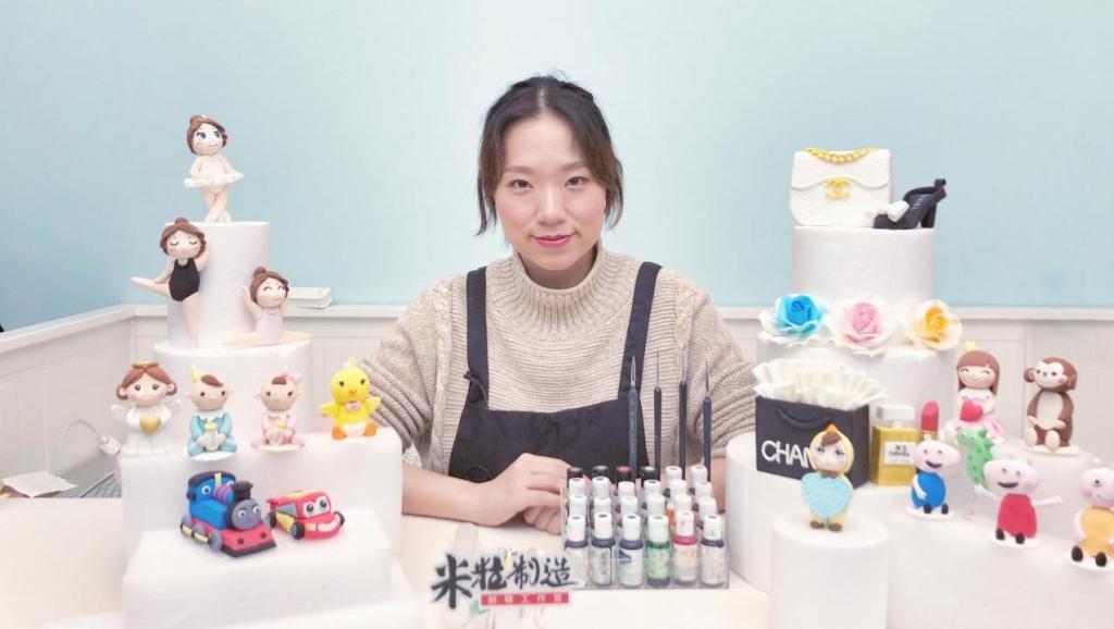 [米粒制造]中文原创翻糖教程-新手指南-做翻糖蛋糕要准备些什么?这里都有