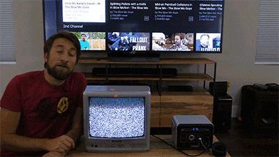 将电视放慢380000倍, 才发现自己原来被骗了这么多年