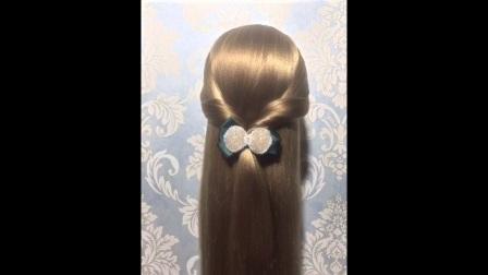 短发编发卷发气质教学儿童个性扎发发型辫子详解 打开 辫子欧式教学扎