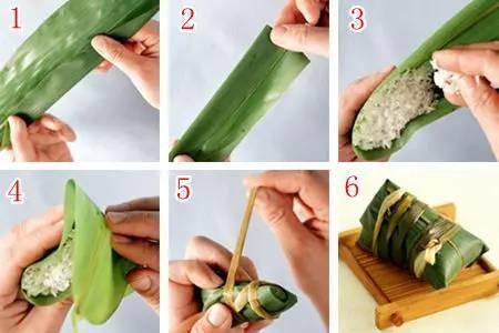 学会这些包粽子的方法