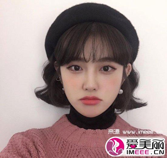 韩国蛋卷头短发发型 时尚百搭发型短卷发莫属 - 微信奴