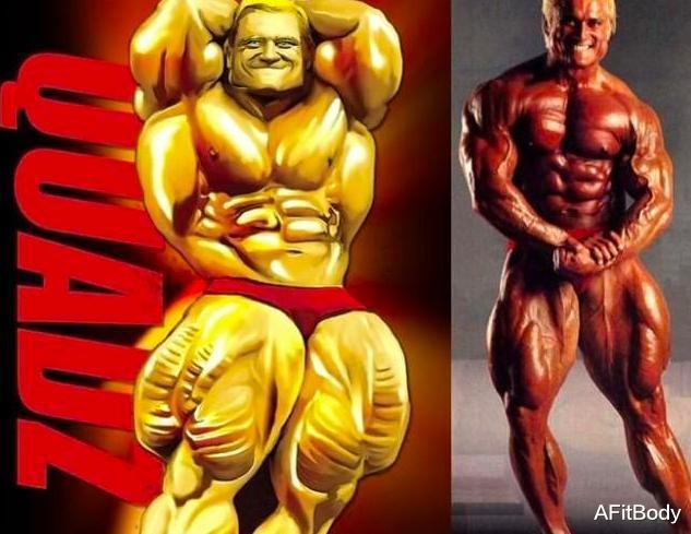 因肌肉腿而闻名, 63岁深蹲330斤, 肌肉男老了还是很彪悍