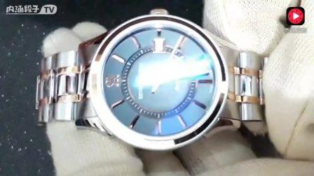 再现精工绝版机械表,这款瑞士梭曼自动双色调手表也不错!