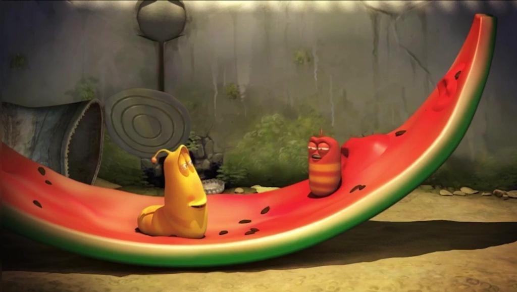 爆笑虫子: 西瓜