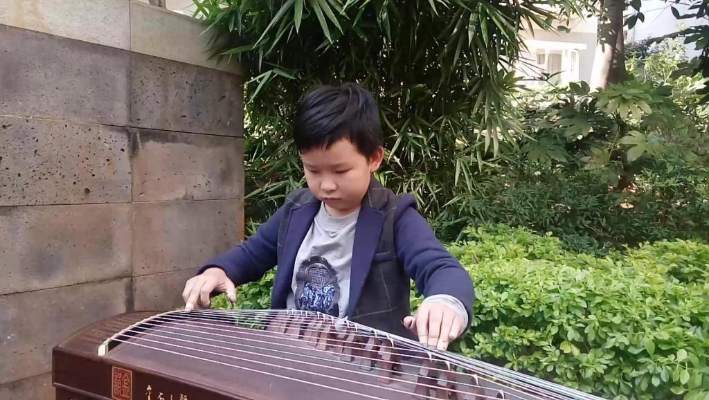 古筝独奏将军令 林玲