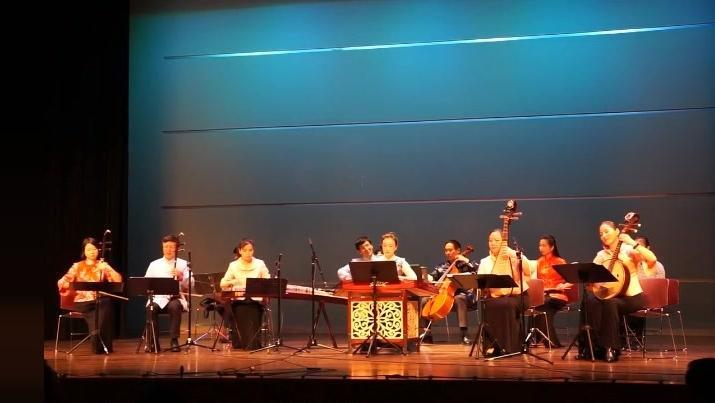 二胡 琵琶和古筝合奏