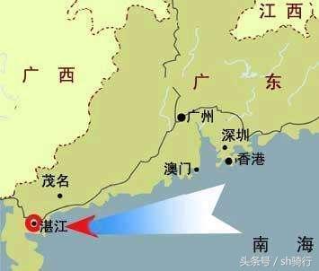 粤西沿海高铁线路图