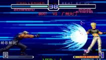 拳皇2002: 卢卡尔压制能力强大,红丸打出隐藏大招也被征服