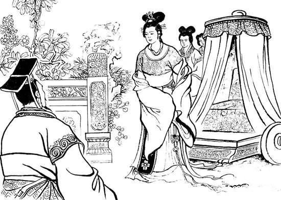皇后简笔画分享展示