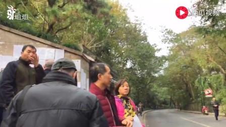 父母替儿女征婚, 每周六杭州万松书院公益征婚, 很多男生求上门