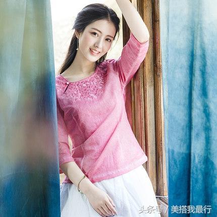 碎花半身裙搭配_6款具有文艺情怀的小衬衫, 搭配碎花半身裙尽显甜美时髦复古风
