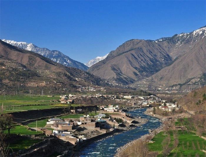 异国风情: 带你领略巴基斯坦农村异样的风景! 中国好朋友! !