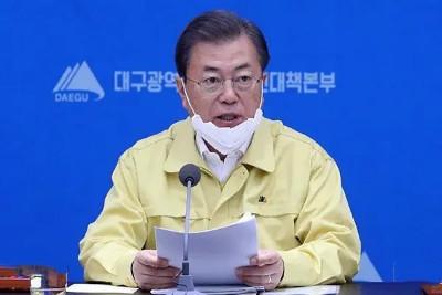 """韩国确诊近千人 总统亲赴大邱督战! """"最大程度封锁""""啥意思?"""