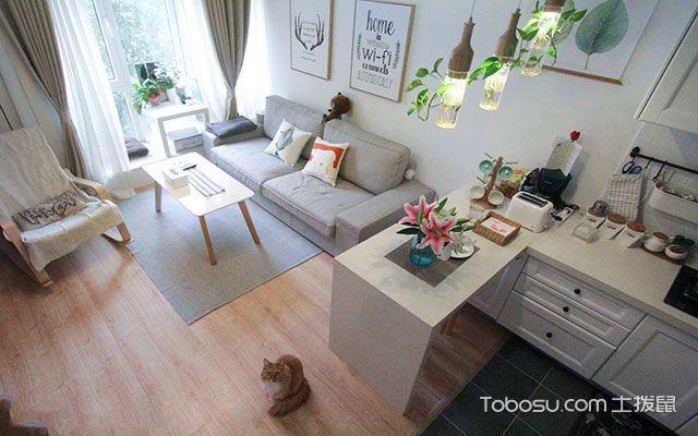 60平小户型二居室装修效果图, 小复式原来能美成这样!