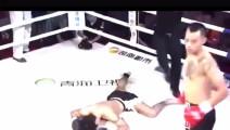 中国拳王被日本人玩命下死手,日本拳手当场重伤直接急救!