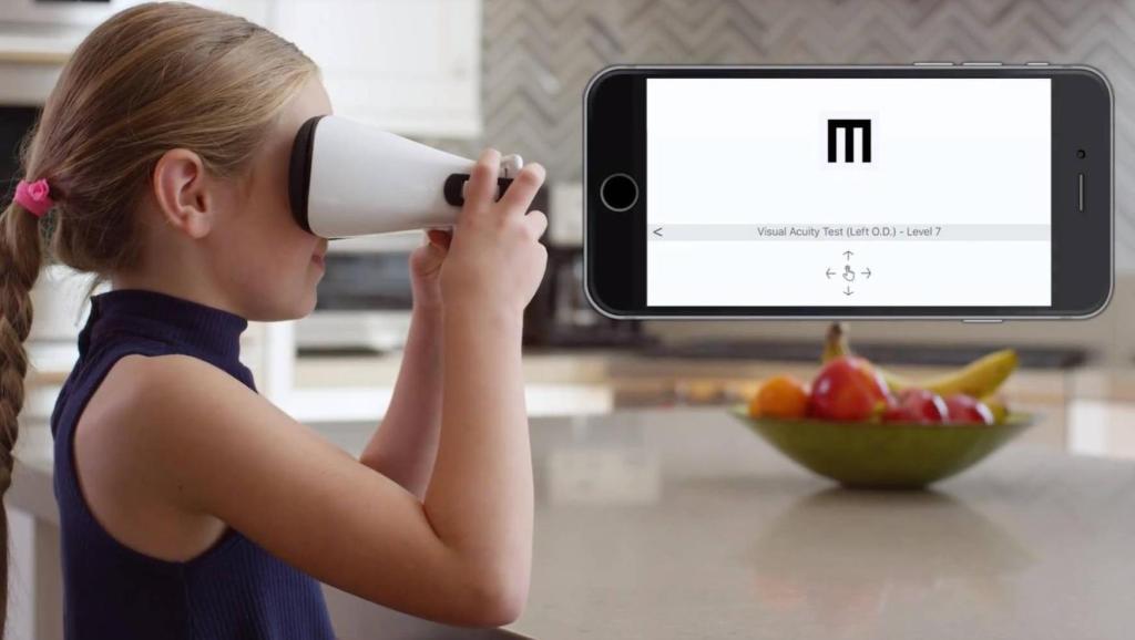 黑科技视力检测仪,在家也能自己检查视力啦!