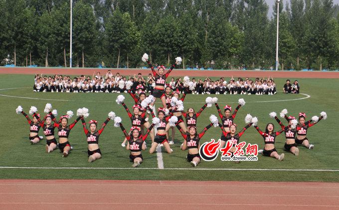 济南幼高专大学生体育节: 健身操舞音乐中强健体魄