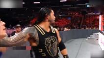 WWE罗曼·雷恩斯VS约翰·塞纳,终极大对决火爆