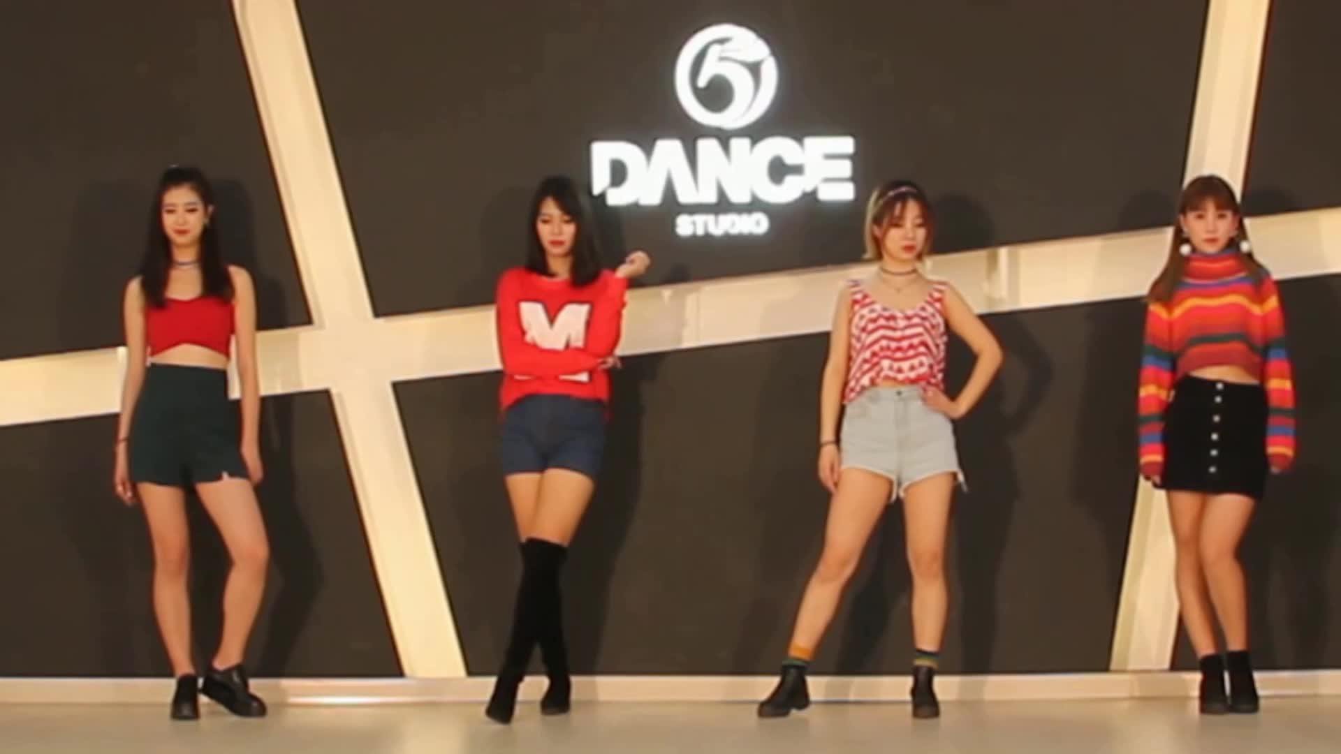 青岛秀秀舞蹈工作室 韩国kpop 教学 wiggle wiggle 舞