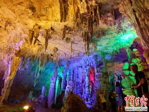 广西融水县老君洞风景区即将正式开业