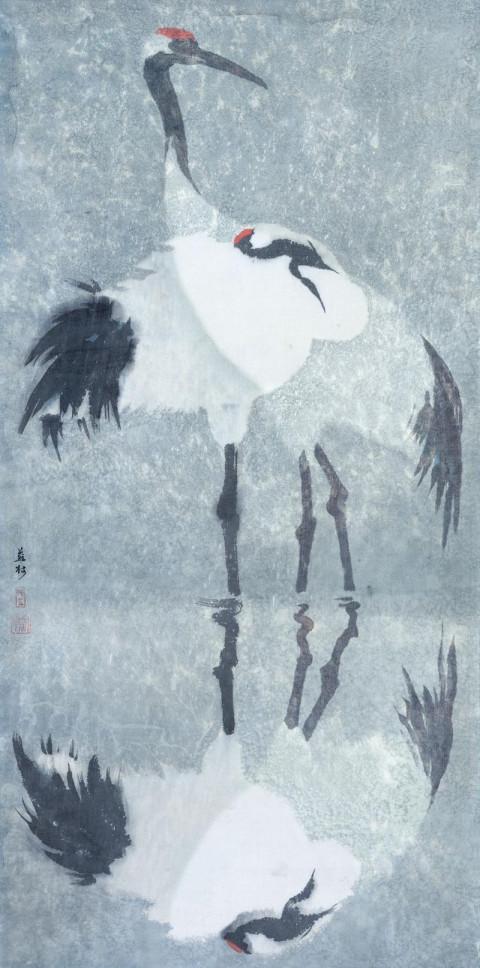 壁纸 动物 国画 企鹅 480_968 竖版 竖屏 手机