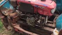 皮卡车装个拖拉机发动机,这发明不简单啊