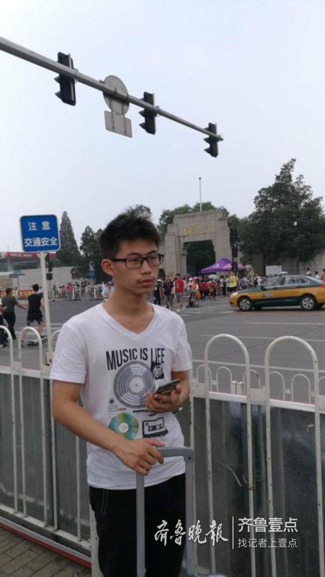 学习累了就出去跑一会儿 学霸风采 城阳一中范延鹏: