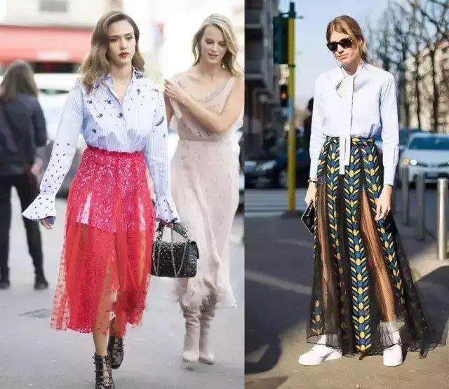 今夏仙气十足的纱裙才是主流, 因为显瘦 27