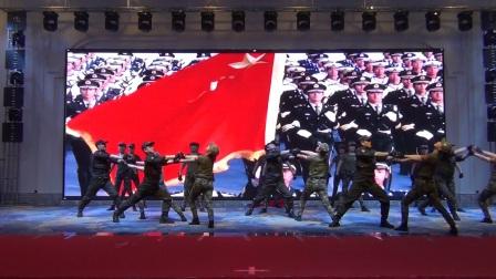 2018 1 11南坪盛汇演出《八一军旗》