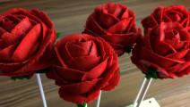 一分钟教你学会做玫瑰花蛋糕,送女朋友最好的礼物