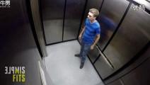 电梯开门碰见尸体!恐怕恶作剧吓尿乘客