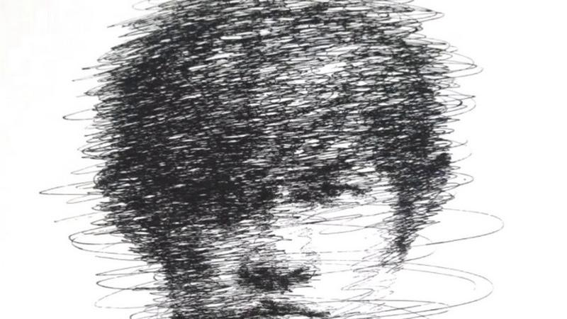 纸上打满圈圈, 看到成画周杰伦: 我信你个鬼! 美术生画龙卷风,