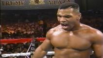 27年前的今天,泰森一回合三次击倒重炮手斯图尔特威震拳坛