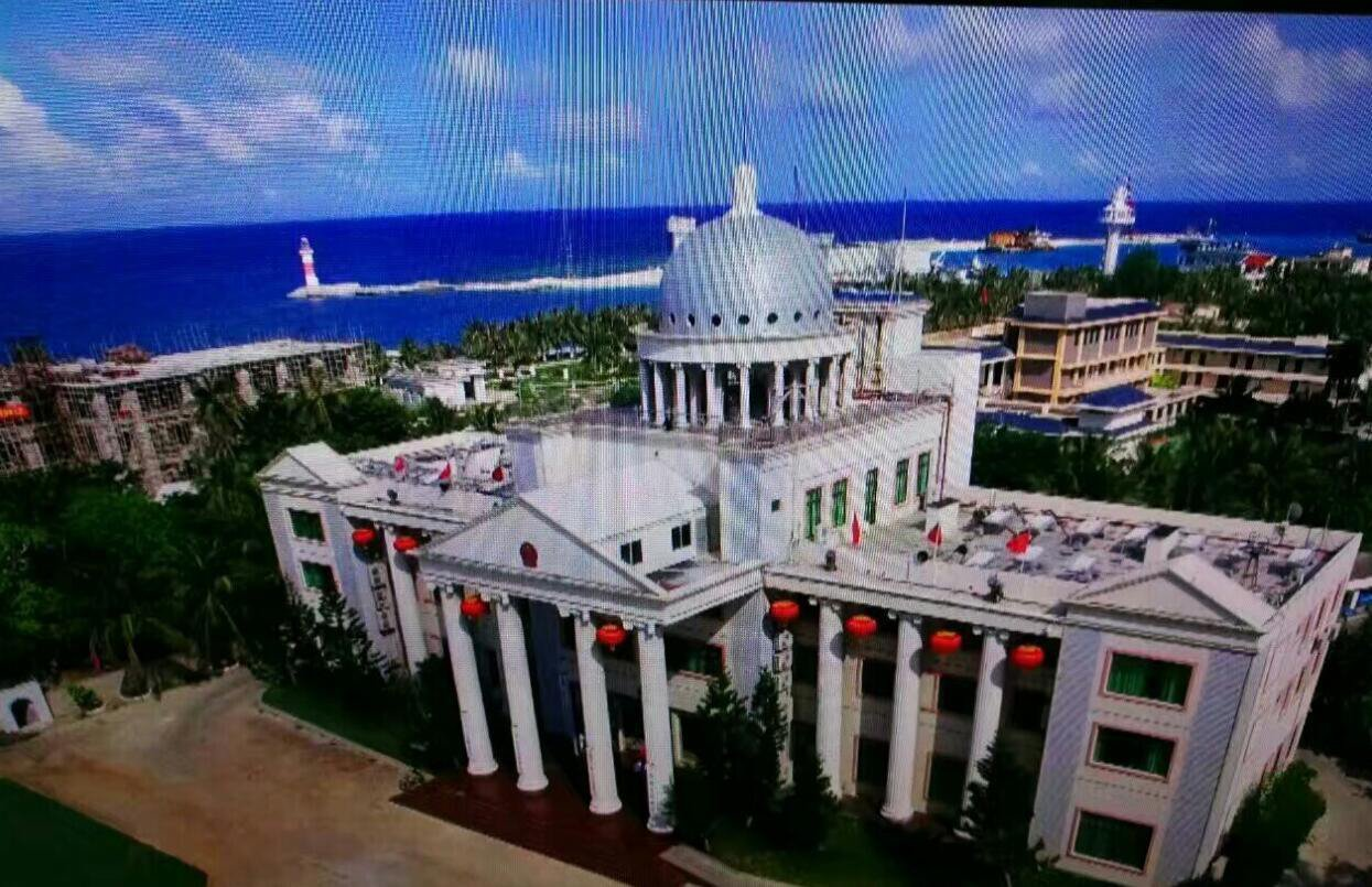 南沙岛礁建设最新画面罕见公开披露