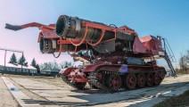 世界上最强大的消防车,战斗机引擎来灭火,浇灭过伊拉克油田大火