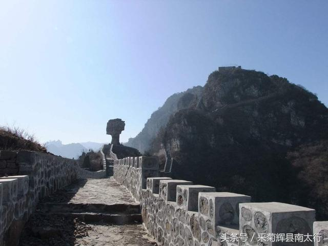 新乡辉县轿顶山风景区旅游攻略 之 轿顶山