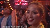 22岁中国拳王暴打KO身高两米体重260斤美国巨人对手站着昏过去了