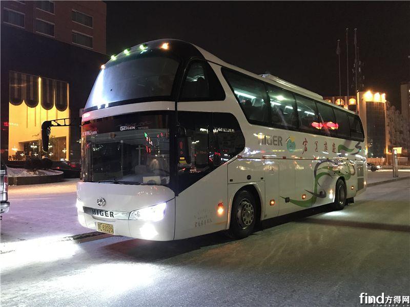 海格客车带您畅游北国风光