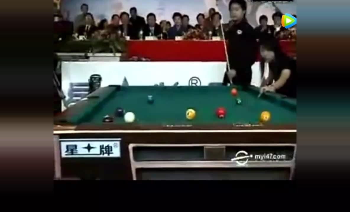 丁俊晖vs潘晓婷表演赛